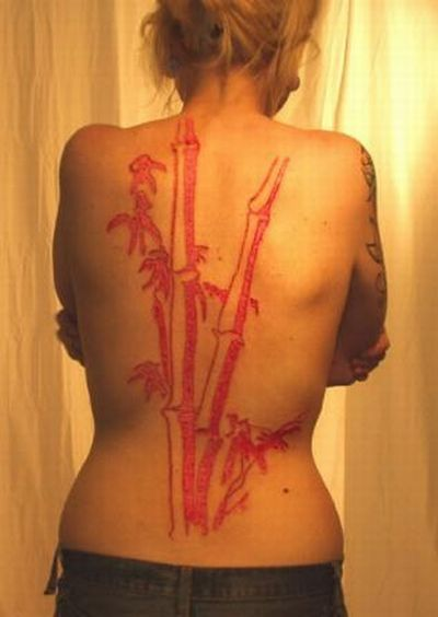 Scarification piercingsntattoos