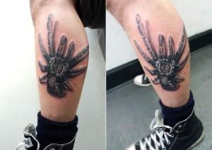 Creepy Tarantula Tattoo